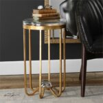 uttermost allura gold accent table mybarnwoodframes montrez west elm stools queen anne furniture side size ashley rocker recliner modern nest tables round chair and half narrow 150x150