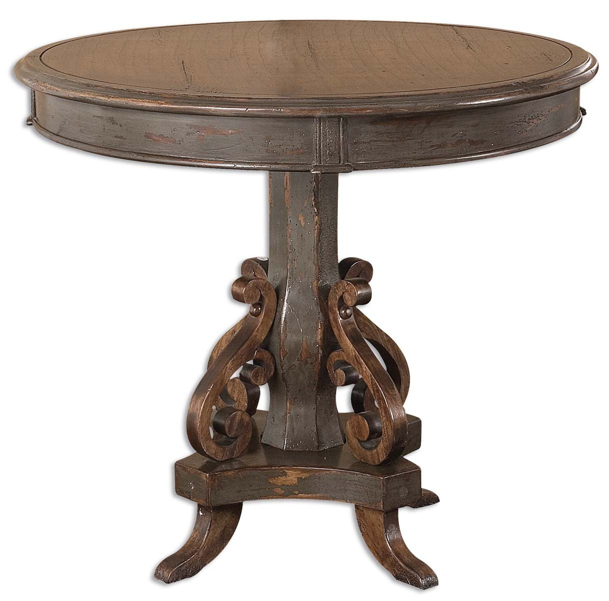 uttermost anya round table inches accent tall kitchen dining ikea desk and end tables bathroom makeovers home goods entryway bench runner rugs pub height beverage cooler side
