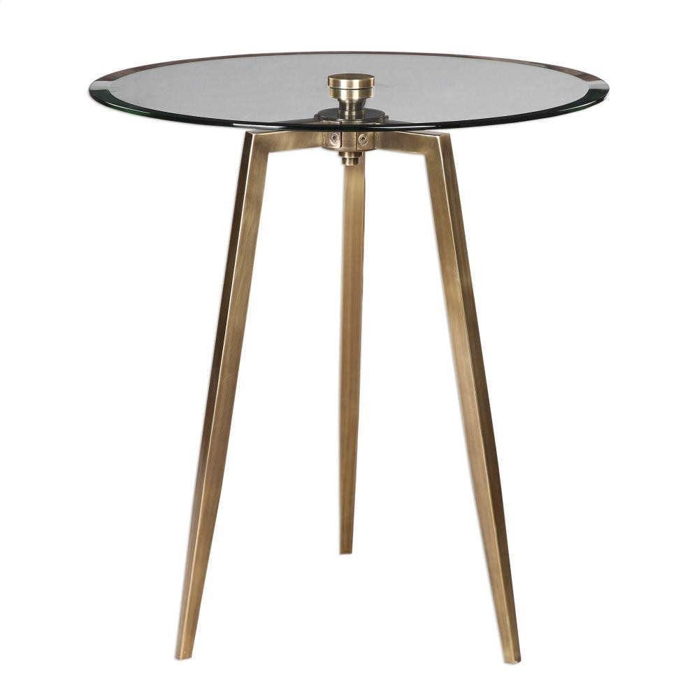 uttermost arwen accent table tables fowhand furniture antique brass safavieh storage bench numeral wall clock small decorative side shades light coupon grey end target clear