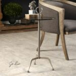uttermost astro stainless steel accent table rug fashion jinan small kitchen with storage best placemats for wood bistro tablecloth round patio umbrella hole square acrylic coffee 150x150