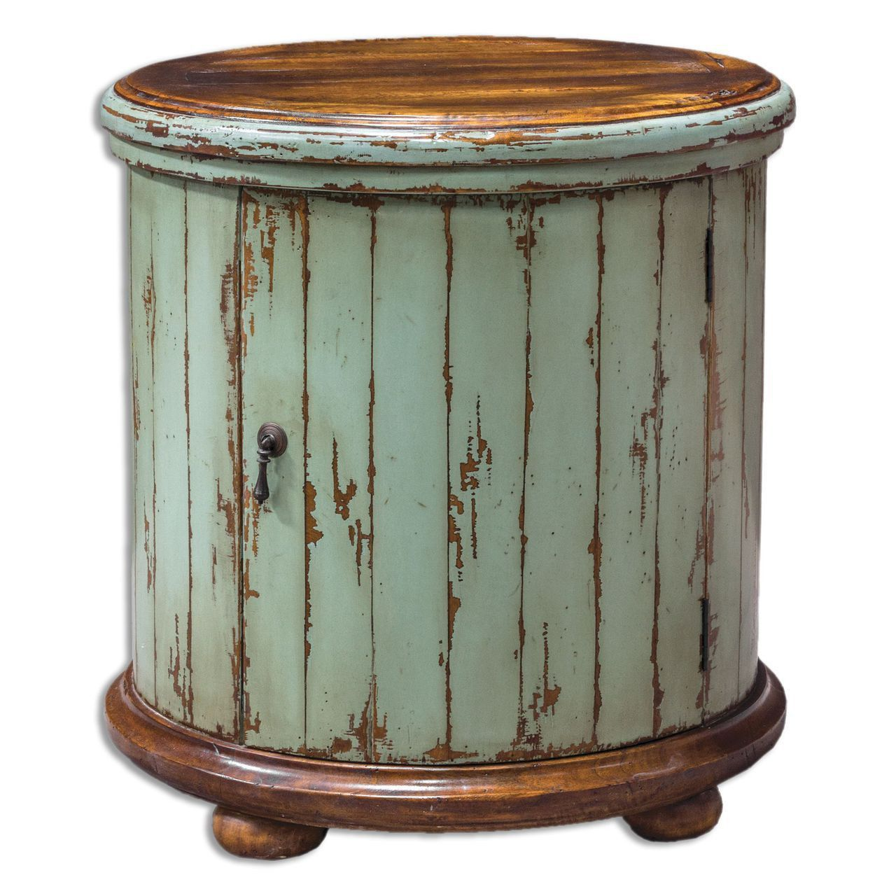 uttermost axelle wooden drum accent table products furniture wood wall decor faux marble end blue glass lamp rustic coffee toronto tray for small vintage and chairs white side