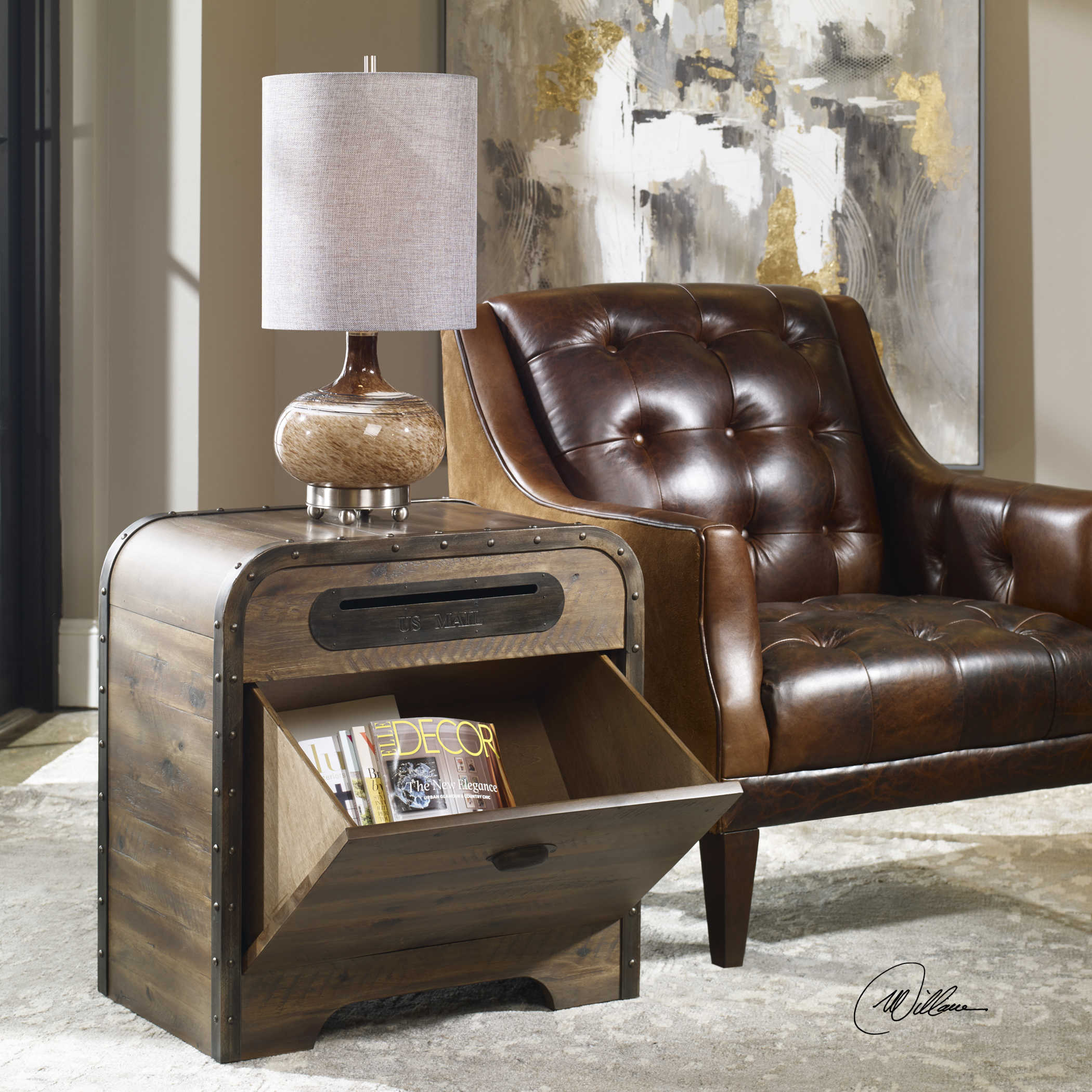 uttermost benjamin mail accent table behind couch bath and beyond ice cream maker brown end tables with drawers marble coffee target kindle fire beacon hill furniture runner gray