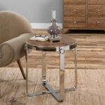 uttermost berdine wooden side table mybarnwoodframes apipunwst blythe accent silver metal console globe lighting octagon narrow cabinet low coffee living room decor set free fall 150x150