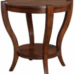 uttermost bergman end table cherry veneer round accent kitchen dining laton mirrored broyhill side with usb glass and iron ikea desk grey white coffee antique furniture small 150x150
