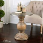 uttermost blythe wooden accent table orange lamp contemporary tables concrete bench seat bunnings octagon side mirrored hall silver metal console cantilever patio umbrellas narrow 150x150