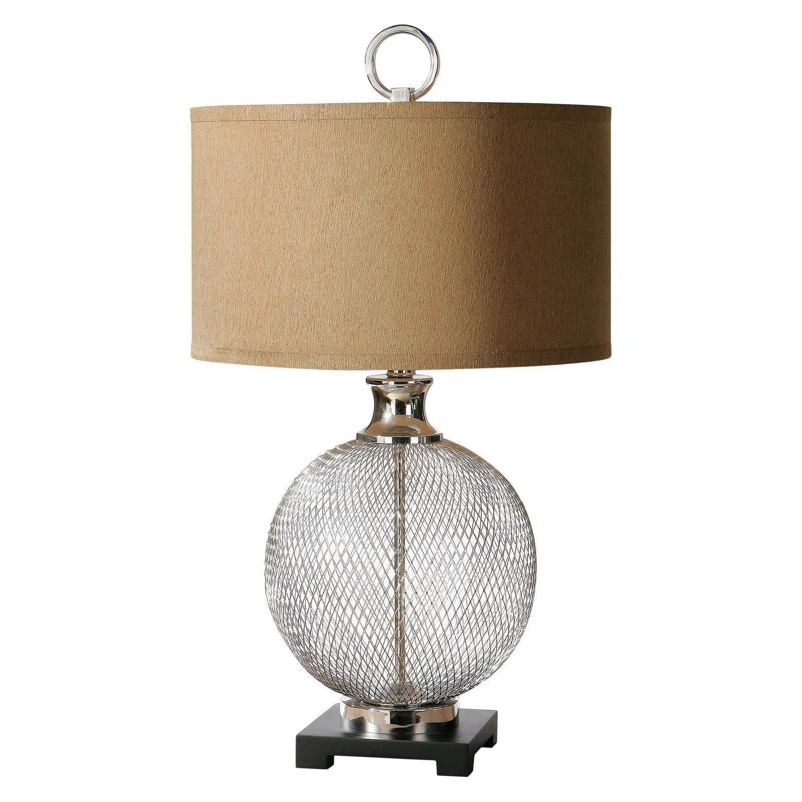 uttermost catalan metal accent lamp wrought iron table lamps ture console legs black side wells furniture coffee dark wood with drawers round pedestal end white wooden trestle