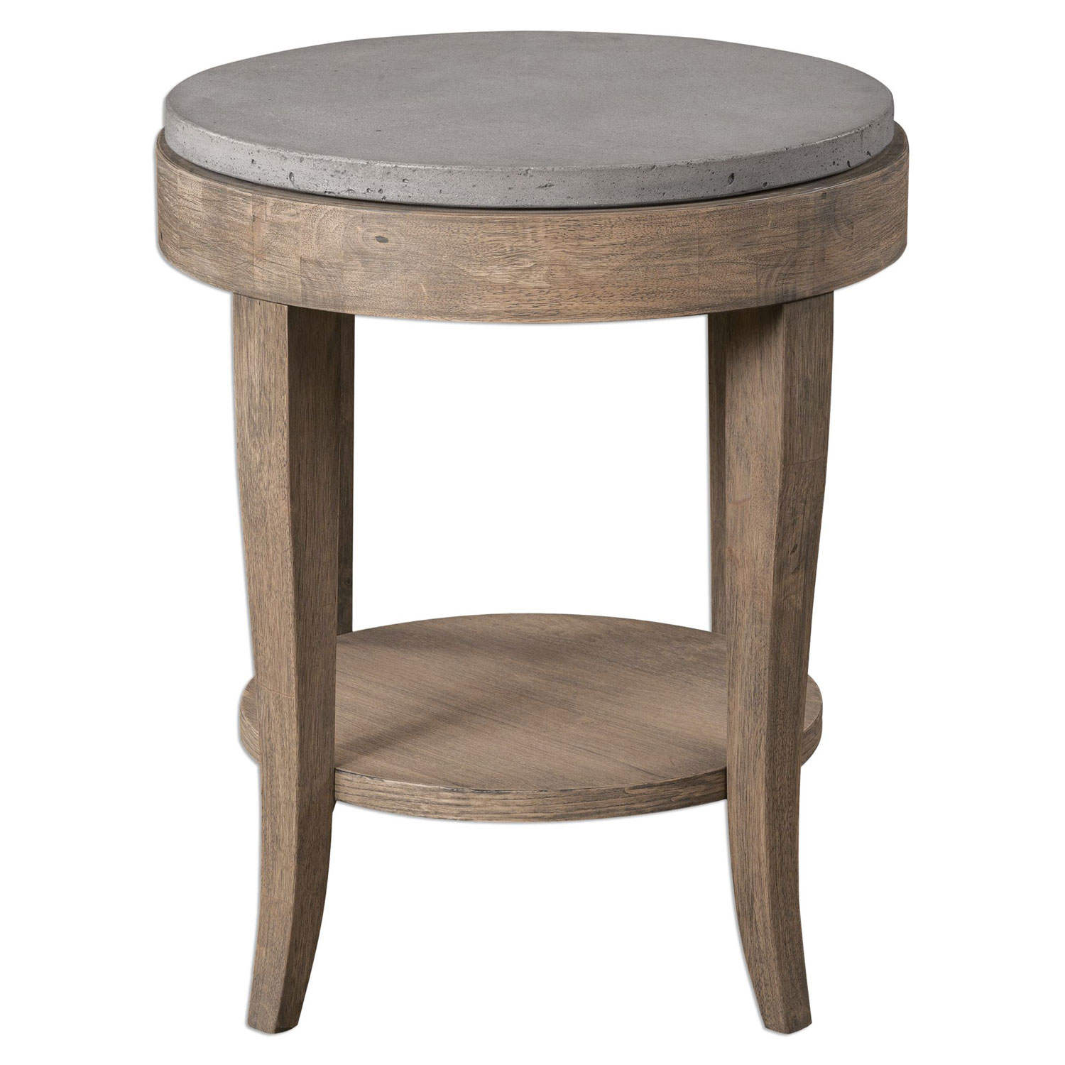uttermost deka brown round accent table bellacor hover zoom wicker outdoor setting mosaic garden chairs ashley furniture sofa tables nesting set corner nest metal chairside wooden