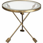 uttermost gold aero accent table bellacor mirrored hover zoom patio swing dark pine furniture solid cherry coffee plastic garden sets extra long sofa wine rack outdoor side wicker 150x150