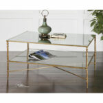 uttermost gold henzler coffee table bellacor drum accent hover zoom modern linens high console round glass metal umbrella base wood floor trim stacking side tables semi circle 150x150