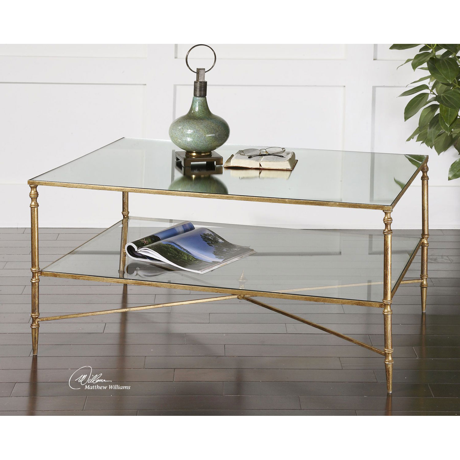 uttermost gold henzler coffee table bellacor drum accent hover zoom modern linens high console round glass metal umbrella base wood floor trim stacking side tables semi circle