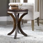 uttermost grae walnut accent table mybarnwoodframes jinan metal and marble side curved small kitchen with storage door cabinet decoration ideas inch high pub colorful tables 150x150