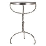 uttermost halcion hammered cast iron round glass top accent table furniture pottery barn kids registry outdoor lounge chairs foyer console antique lamps pier one clearance small 150x150