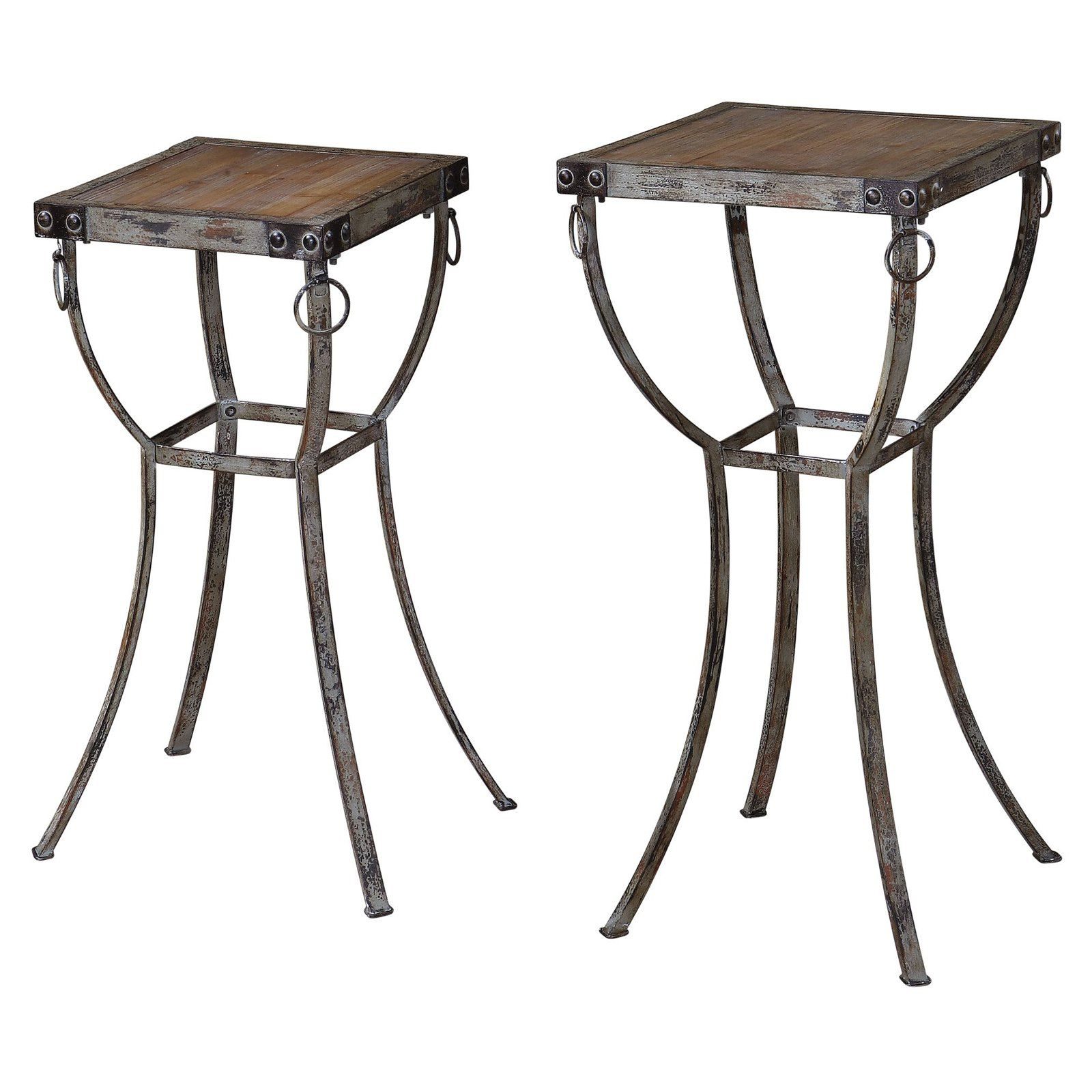 uttermost hewson plant stands set bring old world rubati accent table aesthetics your contemporary inch tablecloth drink ikea storage bags market umbrella stand target sideboard
