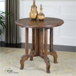 uttermost imber round accent table beyond the brick coffee tables fall tablecloth rose gold bedside lamp white sliding door west elm free shipping code beverage cooler side 150x150
