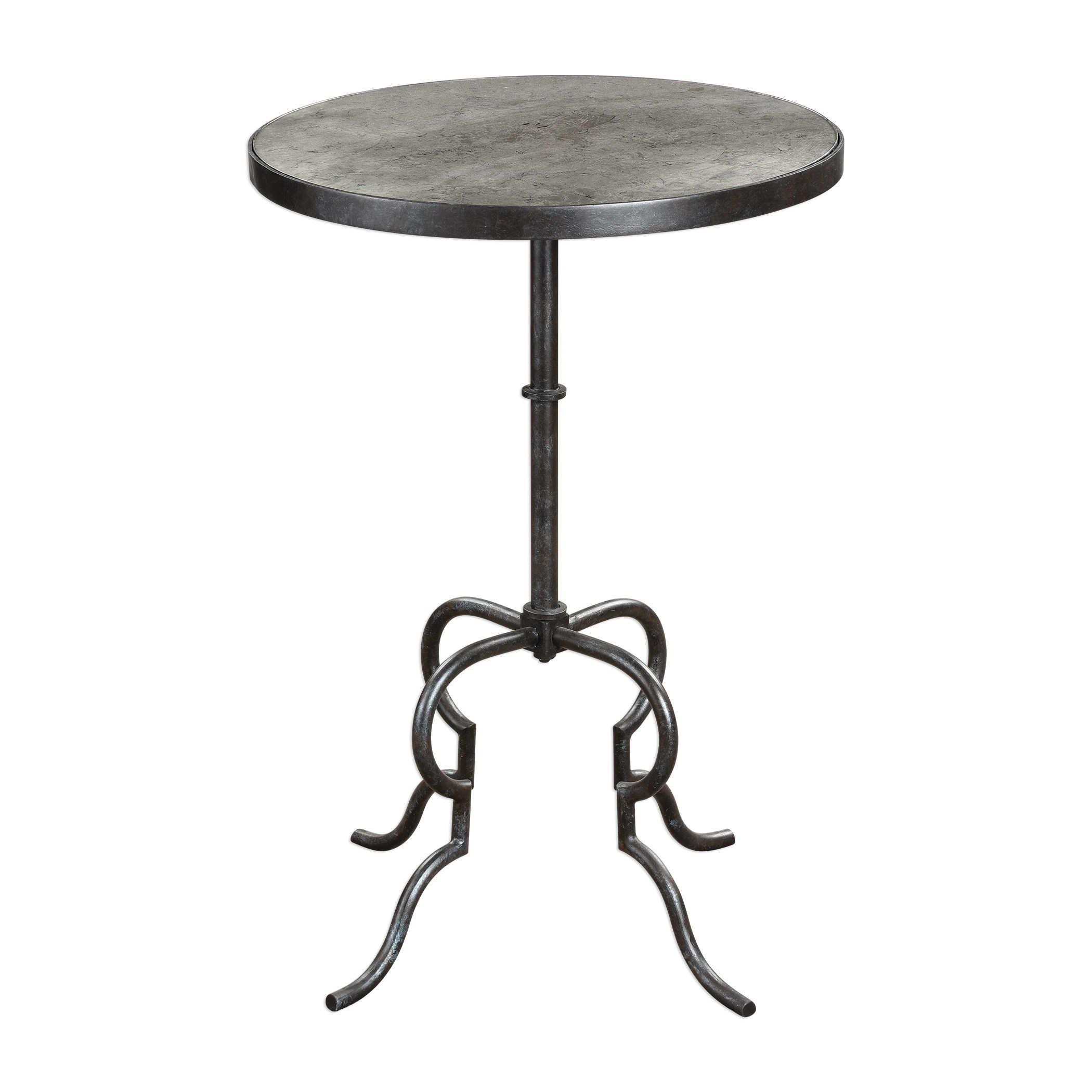 uttermost janine aged black and silver leaf accent table free shipping today pier buffet log small low coffee west elm outdoor white patio side narrow hallway iron mudroom storage