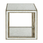 uttermost julie mirrored accent table bellacor hover zoom unfinished wood coffee gold nightstand silver sauder bookshelf bargain furniture victorian outdoor and chair covers 150x150