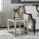 uttermost julie mirrored accent table free shipping today round end tables dog grate kohl rewards coupon solid wood crate modern furniture coffee bathroom vanity cabinets living 150x150