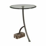 uttermost levi round bronze accent table bellacor rubati hover zoom drink popular end tables glass cover target sideboard inch tablecloth funky bedside wooden storage trunk small 150x150