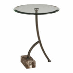uttermost levi round bronze accent table bellacor rubati hover zoom target sideboard small occasional side tables desk with drawers kitchen sets under glass cover blue end tiffany 150x150