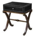 uttermost lok accent table furniture east inc rubati wooden trestle holland ikea storage bags bedside cover kitchen sets under small console cabinet triangle inch tablecloth 150x150