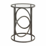 uttermost lucien iron accent table bellacor black hover zoom furniture and home decor brass coffee balcony set room essentials queen comforter cast garden ikea pots small metal 150x150