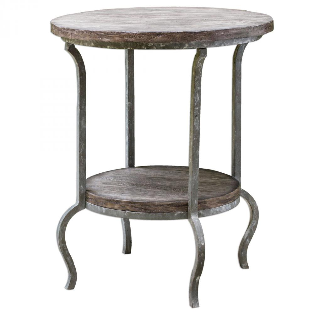 uttermost marcin round accent table hansen lighting antique pedestal end kohls floor lamps black bedside and tables wicker chair target dining tufted furniture french chairs