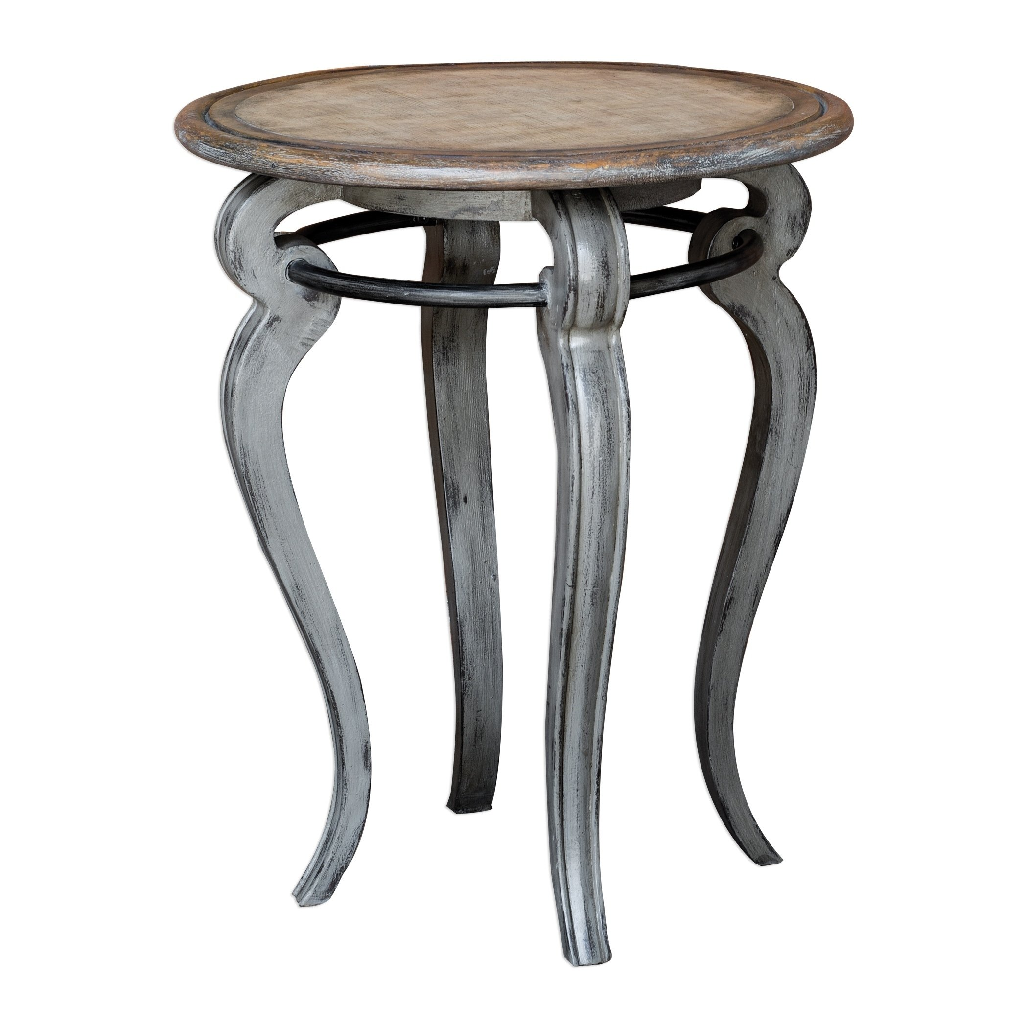 uttermost mariah distressed grey accent table free shipping jinan today outdoor cordless lamps kmart dining chairs door cabinet inch high pub small room furniture green lamp white
