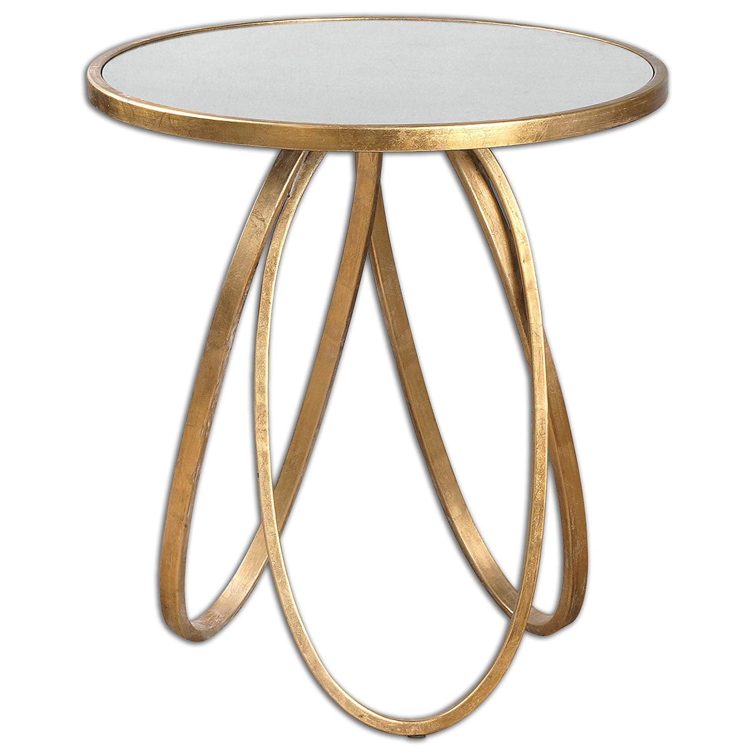 uttermost montrez gold accent table kitchen dining dale tiffany ceiling lamps door threshold seal hobby lobby furniture ceramic patio side sofa with drawer large grey clock drum