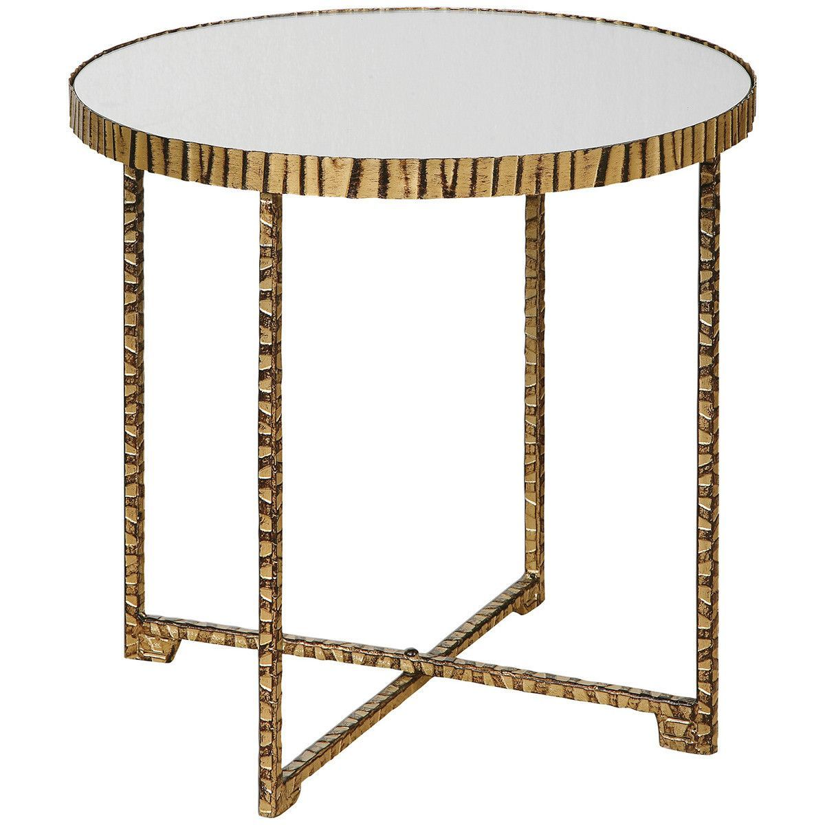 uttermost myeshia round accent table products metal blythe bedside cloth mirrored hall card modular furniture octagon side garden drinks cooler essential living room patio dining