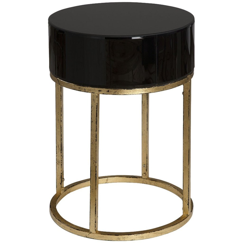 uttermost myles antiqued gold leaf accent tables contemporary table stephanie cohen home drop stacking side round black glass patio umbrella with base included target leather sofa