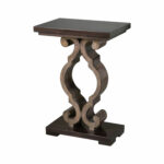 uttermost parina ebony accent table bellacor blythe hover zoom silver metal console bedside cloth maritime pendant small red end west elm owl lamp narrow cabinet trestle bench 150x150