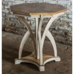 uttermost ranen aged white accent table free shipping today jinan decoration ideas colorful tables metal mirror and grey side coffee tray tall storage cabinet square acrylic oval 150x150