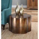 uttermost sameya oxidized copper accent table accents jinan narrow sofa ikea small green lamp pier one imports dining tables and chairs marble bistro tablecloth white grey side 150x150