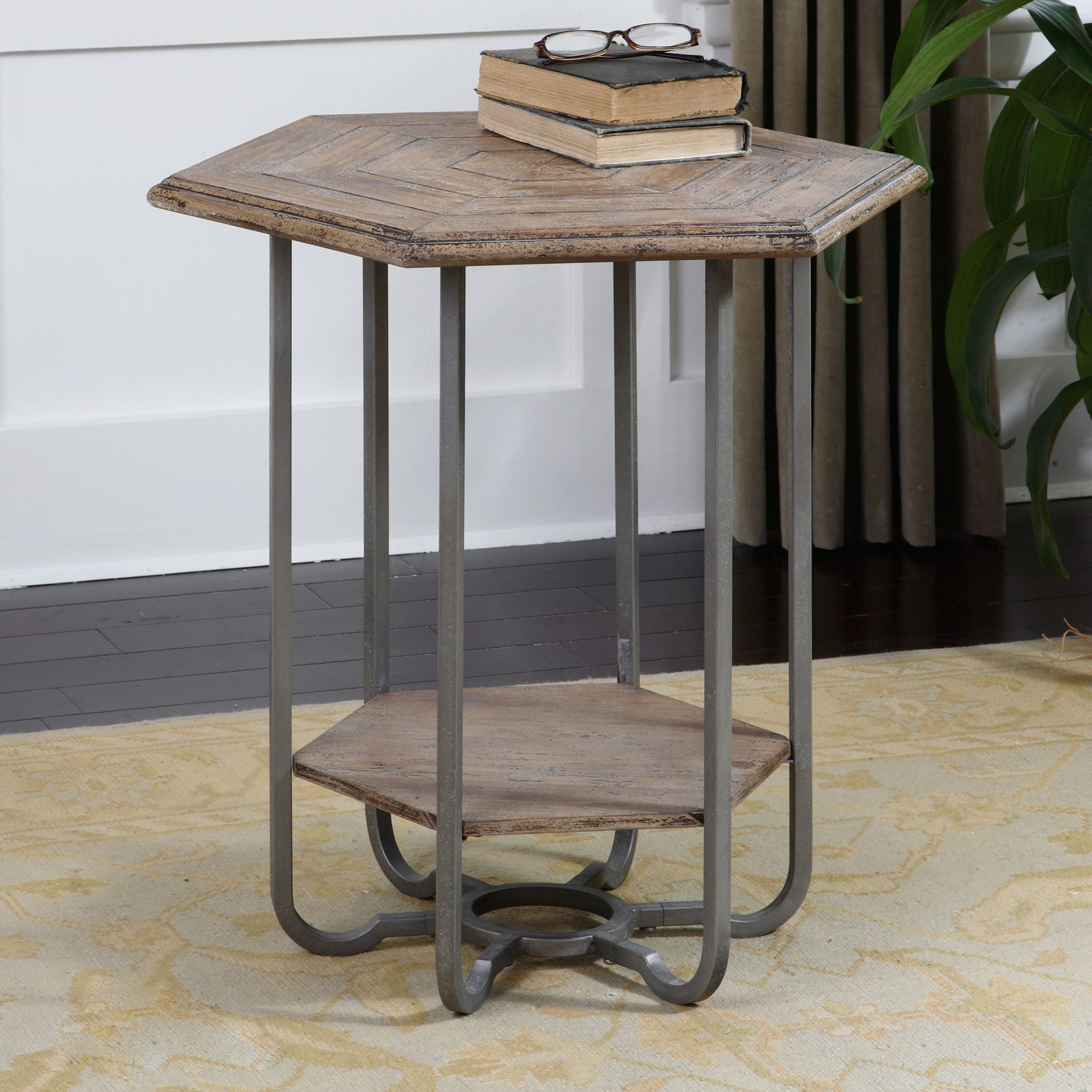 uttermost son hexagonal accent table free shipping today jinan colorful tables narrow outdoor coffee circular cover high dining set center ideas pier one imports and chairs metal