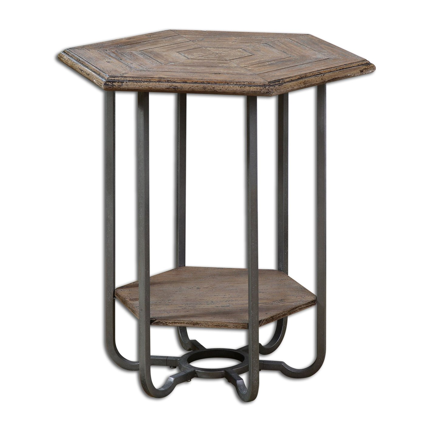 uttermost son wooden end table atg home goods accent sinley tables inch wide side bistro umbrella small crystal ball lamp solid wood round black coffee outdoor drink desk legs
