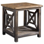 uttermost spiro fir wood end table bellacor blythe accent hover zoom cantilever patio umbrellas essential living room furniture dining sets for small spaces silver metal console 150x150