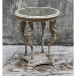 uttermost swaun mahogany wood accent table laton mirrored christmas linen tablecloths dining room linens small end round sparkle lamps marble top bistro lucite cube patio set 150x150