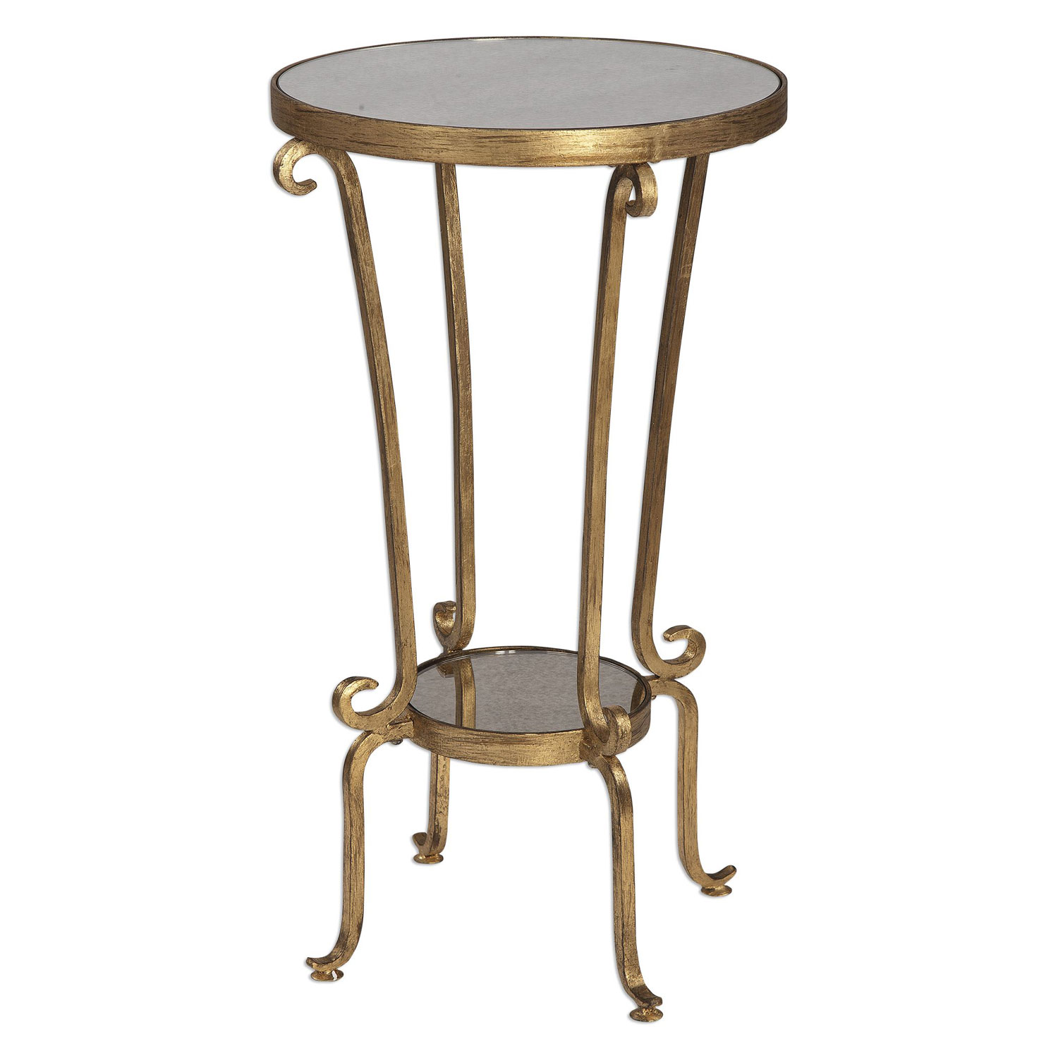 uttermost vevina antique gold accent table bellacor hover zoom elm flooring target mirrored side with drawer dining room chandeliers coffee chairs under cordless led lights