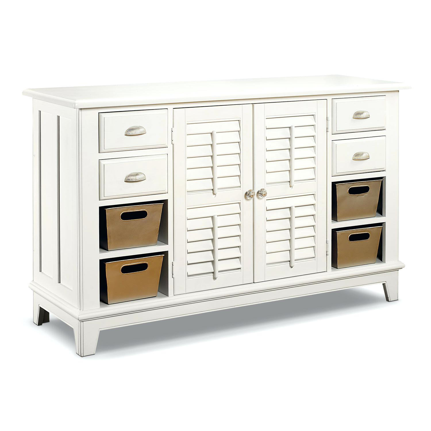 value city furniture dressers bedroom accent and occasional plantation cove sofa table white tables small console with drawers battery operated lamps lighting porch side hourglass