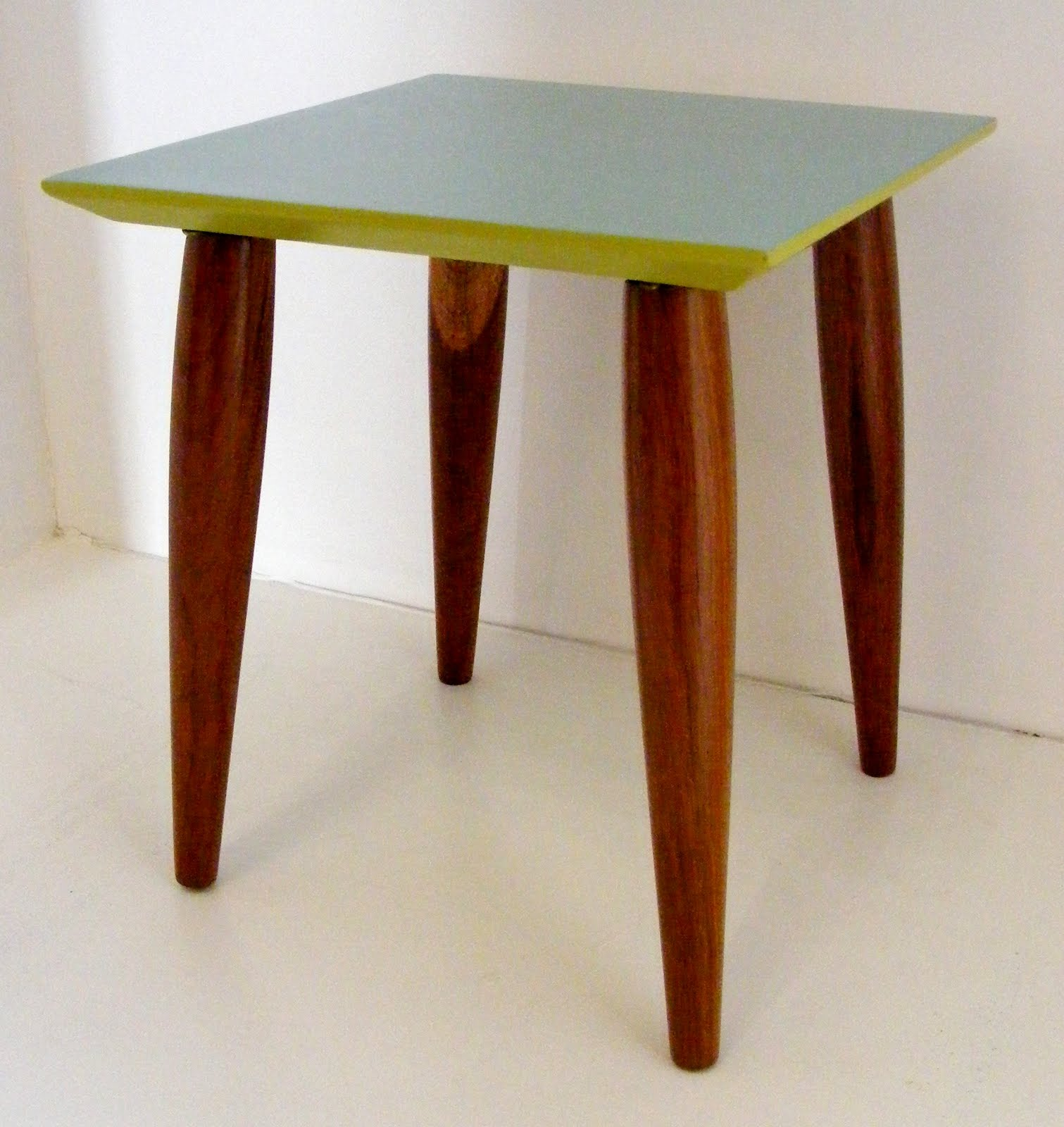 vamp furniture new stock this week lime green accent table small square retro side with aqua and accents drum seat height trestle supports heavy duty throne nautical decor lamps