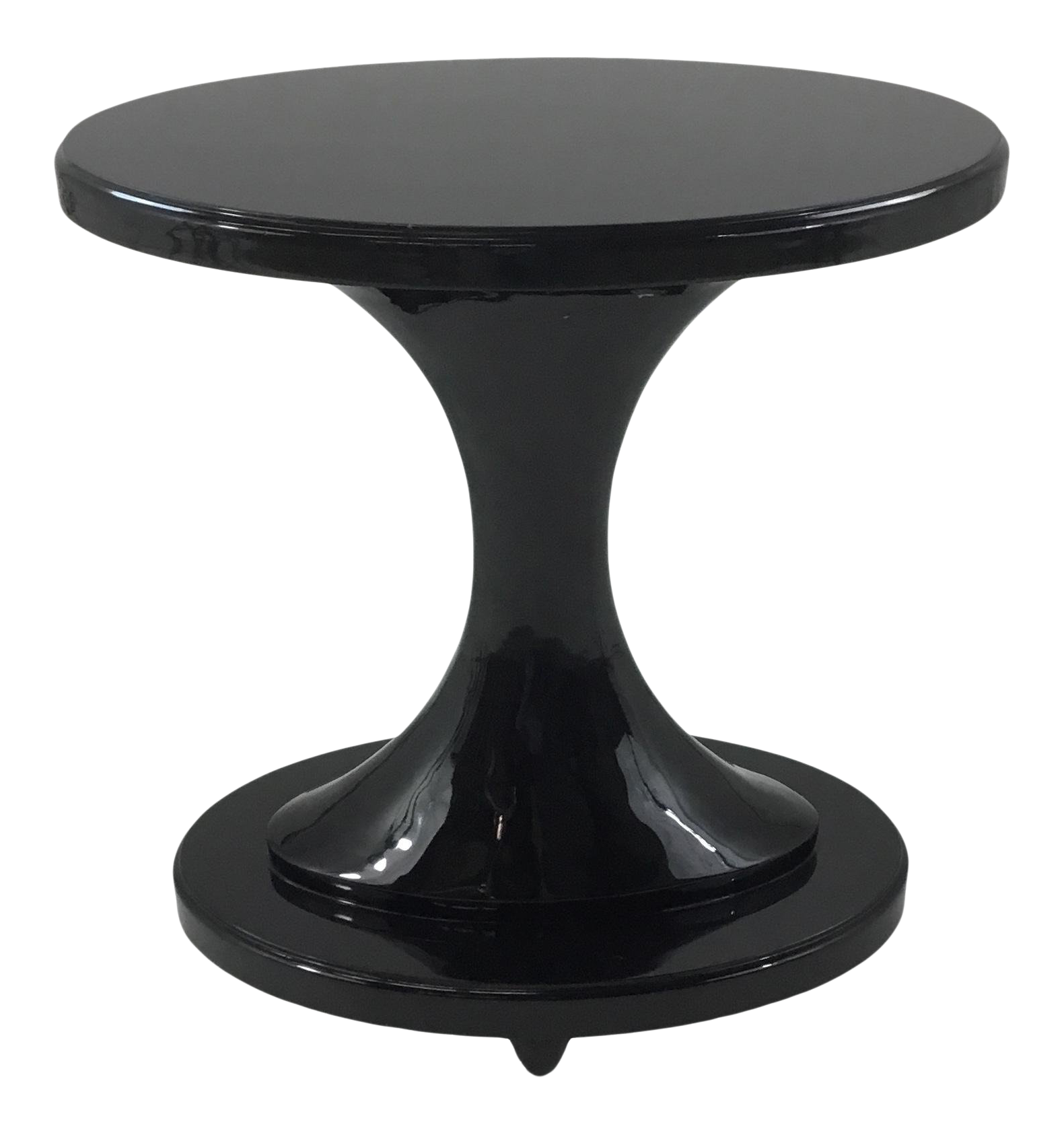 vangaurd black lacquer oval accent table chairish outdoor bench clearance inch high end beach themed furniture coffee ideas iron round mirrored bedroom dressers tablecloths and
