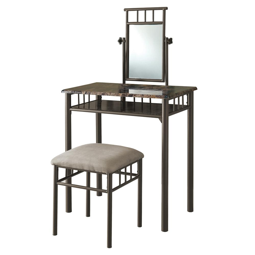 vanity set cappuccino marble bronze metal monarch accent table mirrored end tables nightstands pier imports mirrors mosaic outdoor home decor trends extra long narrow console