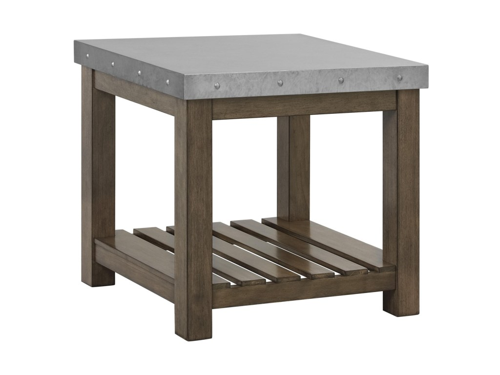 vendor lansing accent tables metal top end table becker products standard furniture color riverton threshold with wood tablesend outdoor patio toronto circular red counter height