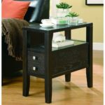 venetian worldwide allen cappuccino end table vene the home finish tables accent tile top patio bistro oval glass and metal coffee black brown free patterns for quilted runners 150x150