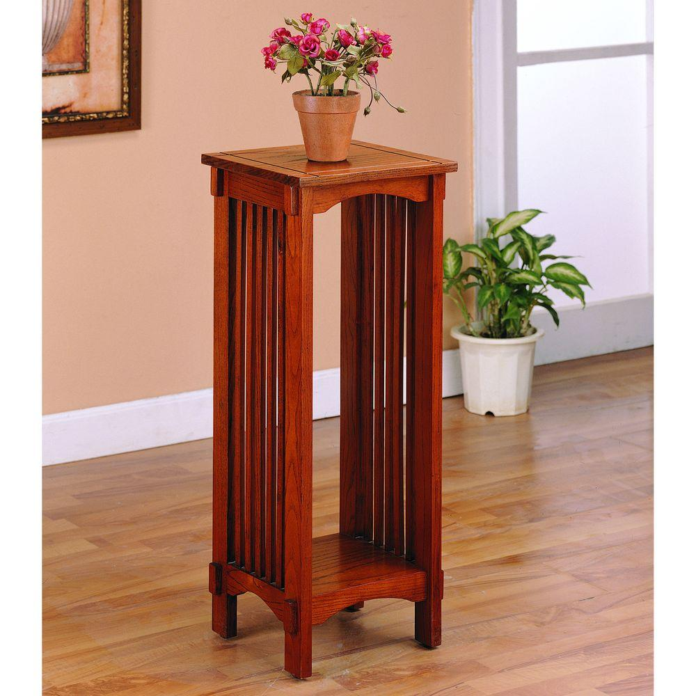 venetian worldwide bridgeport warm brown finish indoor plant stand stands vene accent table dale tiffany stained glass lamp shade ikea end foot patio umbrella mirror alexa home