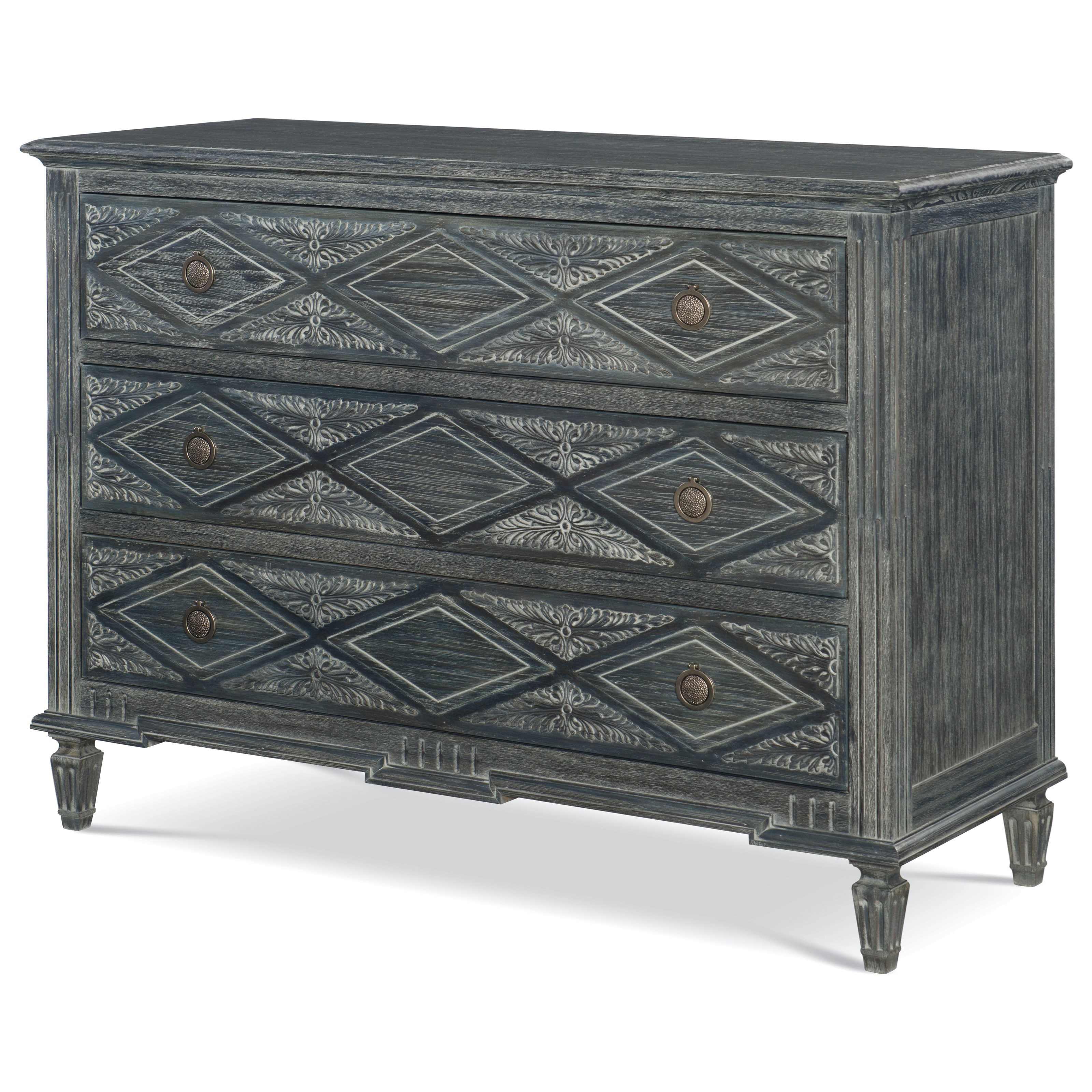 veranda alton colfax three drawer chest belfort signature furniture products fine design color accent night table luxury lamps west elm coffee desk wood and iron side half circle