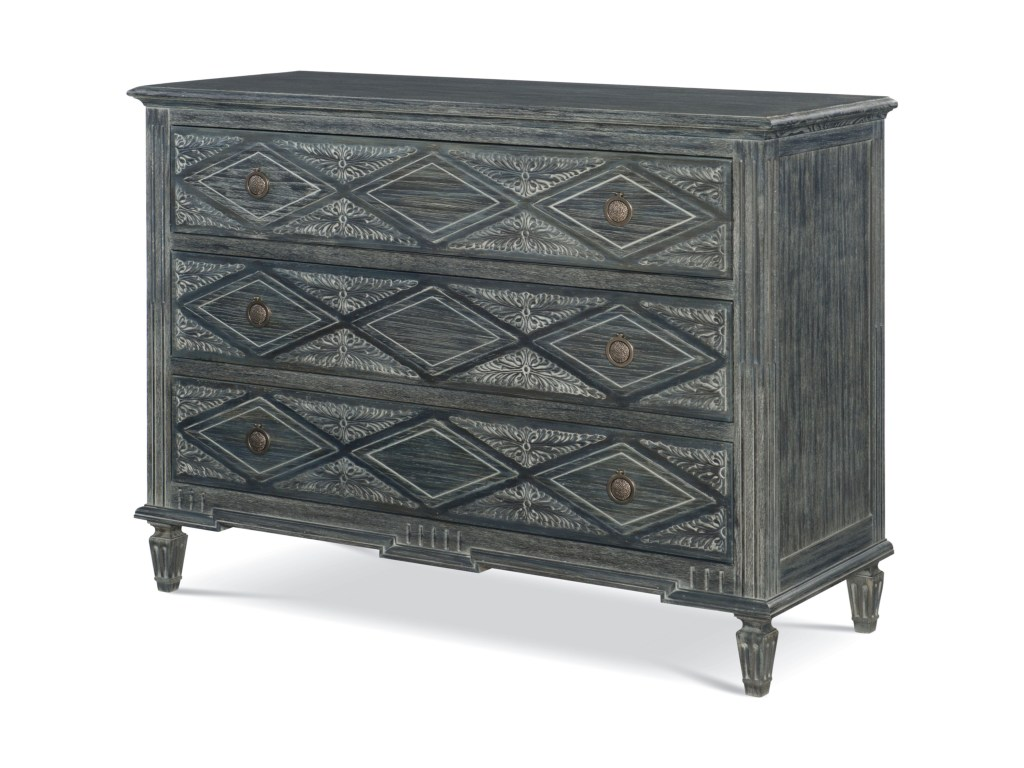 veranda alton colfax three drawer chest belfort signature furniture products fine design color accent night table verandaalton outdoor coffee cooler jar lamp ikea toy storage box