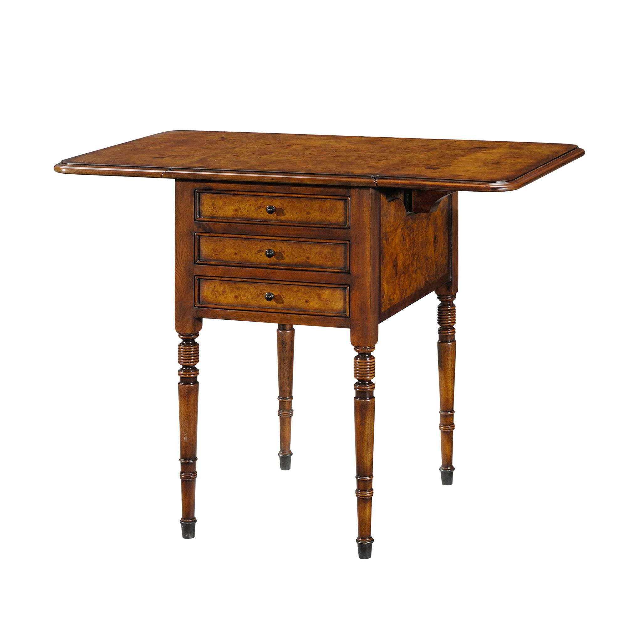 Victorian Drop Leaf Side Table Leaves And Products Accent ...