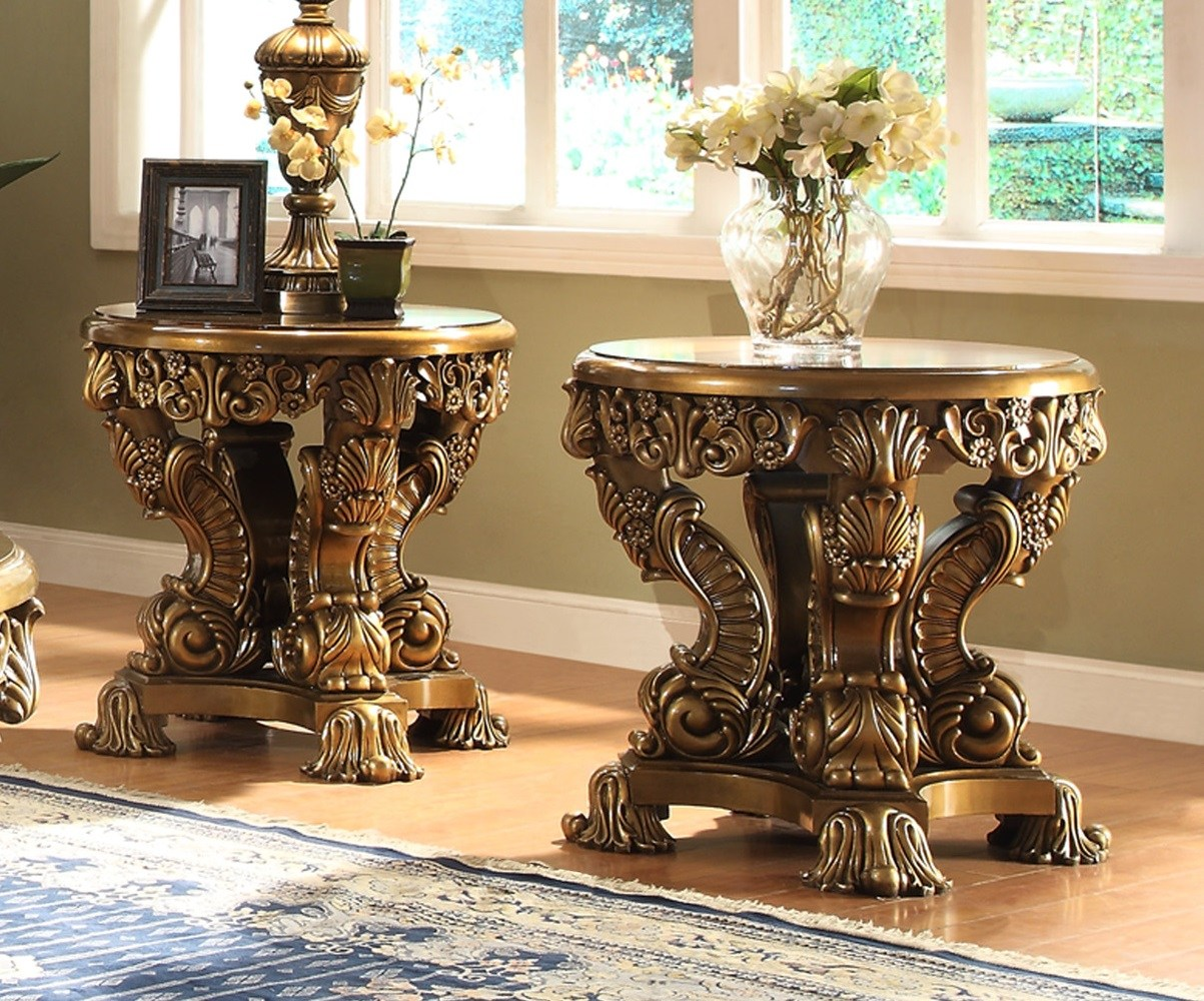 victorian palace round end table usa furniture accent glass coffee and tables blue white oriental lamps mirrored media console black bedroom pottery barn sofa covers large square
