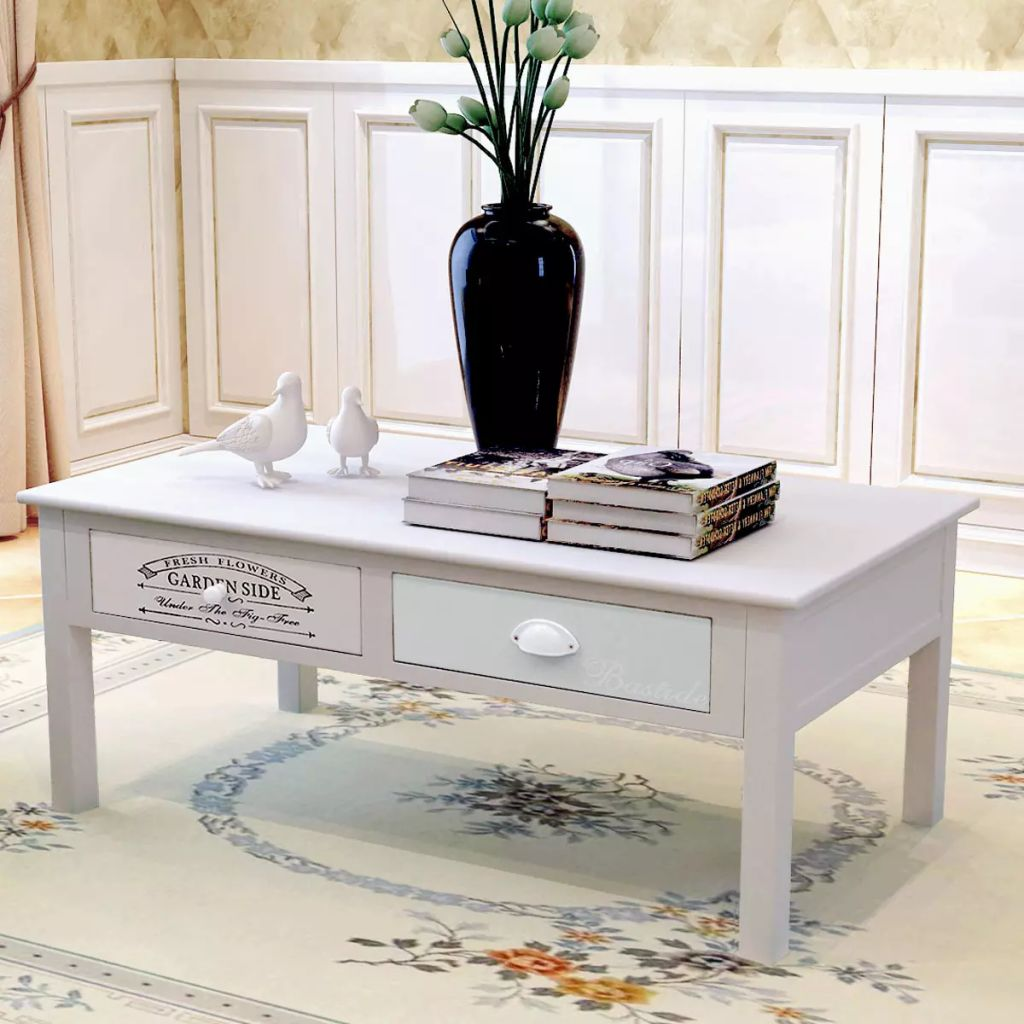 vidaxl coffee couch side end accent table drawers living room home behind loading deck furniture set metal floor threshold ifrane antique round with drawer tables toronto